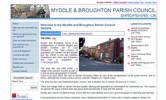 Myddle and Broughton Parish Council  Website